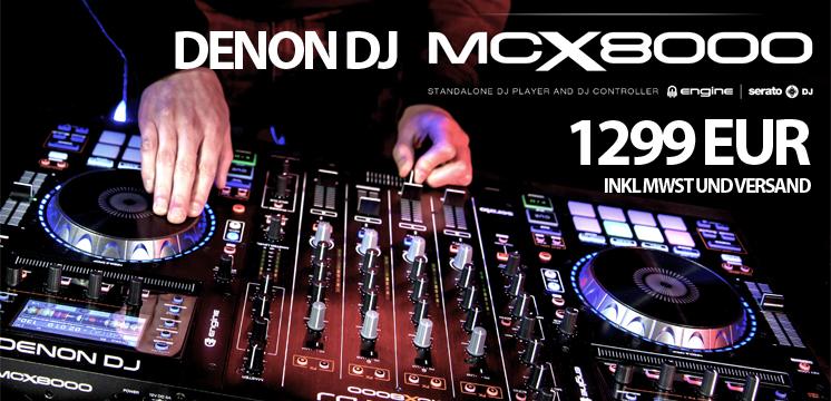 Denon DJ MCX 8000 - Mach dich FREI!