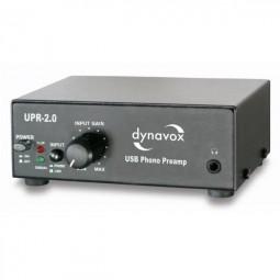 Dynavox Profi USB-Phono-Vorverstärker UPR-2.0 schwarz / USB Plattenspieler zu PC + Vorverstärker