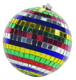 Eurolite Spiegelkugel 10cm Multicolor