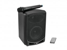 OMNITRONIC WAMS-065BT / Mobil-PA mit Bluetooth, UHF Funkmikro, 40W + Akku