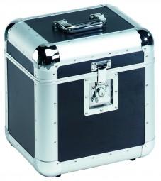 Platten-Case ALU 75/25,abgerundet,schwarz