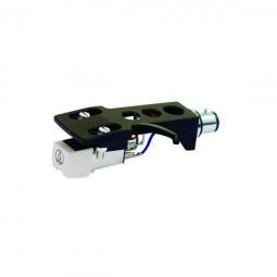 Headshell & System OMNITRONIC S-15 / DJ und Hifi Tonabnehmersystem auf Headshell montiert