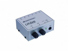 OMNITRONIC LH-015 2-channel line mixer