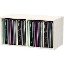 Glorious Record Box beige 230 / Platten-Regal