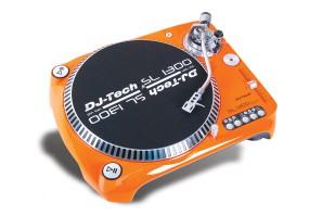 DJ-Tech SL 1300 MK6 orange / USB Plattenspieler für DJ oder Recording, 33,45 und 78 rpm!