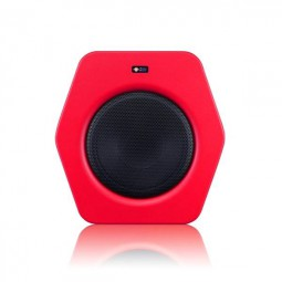Monkey Banana Turbo 10s Subwoofer rot