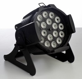 Ignition Studio Par PLATINUM schwarz18 x 4W LED RGB+WW