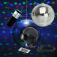 Spiegelkugelset 20cm LED Starter mit Fernbedienung – wireless Mirrorball Set / Batteriemotor und LED