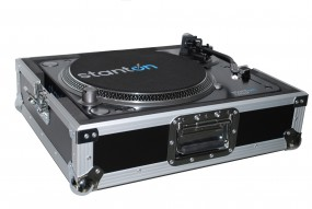 Plattenspieler-Case Pro schwarz / Turntable Case