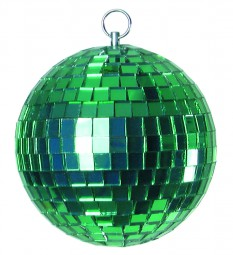 Eurolite Spiegelkugel 10cm grün