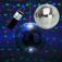 Spiegelkugelset 20cm Starter ? wireless Mirrorball Set / Batteriemotor