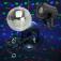 Spiegelkugelset 20cm LED Starter ? Mirrorball Set / Netzstecker und LED Strahler
