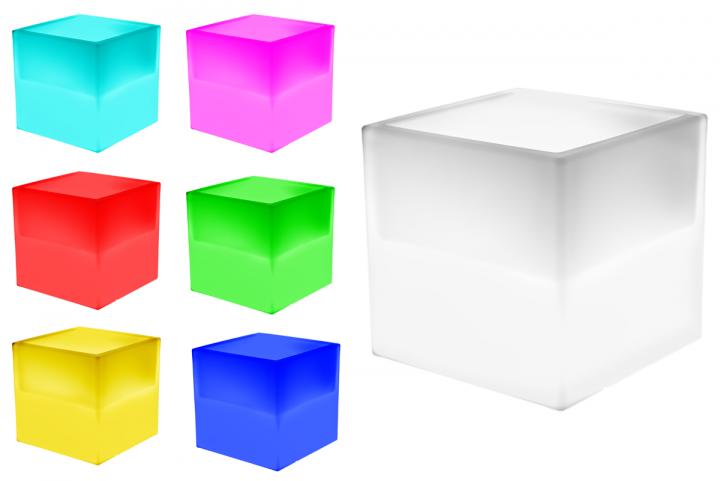 7even led uni box 40cm ir fernbedienung led regal led box z b f r messe lps eisk bel. Black Bedroom Furniture Sets. Home Design Ideas