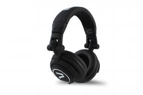 7even® Headphone black / Dj, Hifi, Sport Kopfhörer, dreh-klappbar,tauschbares Kabel,Rubber-Finish