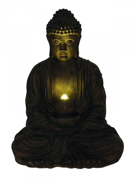 buddha brunnen feng shui asien dein. Black Bedroom Furniture Sets. Home Design Ideas