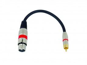 Kabel SADC XLR female/Cinch male