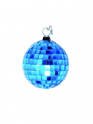Eurolite Spiegelkugel 5cm blau