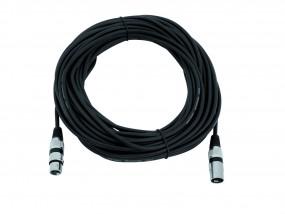 Kabel MC-200, 20m, schwarz, XLR m/f, sym