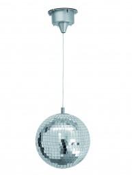 Eurolite LED Spiegelkugel 20cm, mit Motor FC
