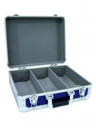 CD-Case ALU Digital-Booking,abgerund.blau