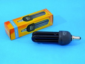 OMNILUX UV Energiesparlampe 11W E-14 2U