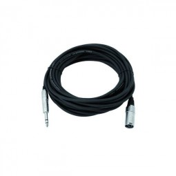 Cable XK-50 XLR-male/ 6,3 plug stere 5m