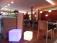 7even® LED Design Cube 40 / LED Leucht Sitzwürfel / In und Outdoor / Akku und Fernbedienung (IR) ,40