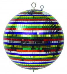 Eurolite Spiegelkugel 30cm Multicolor