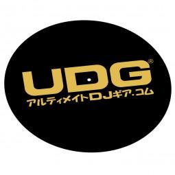UDG Slipmat Gold Japanese Text U9934 (Paar)