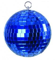 Eurolite Spiegelkugel 10cm blau