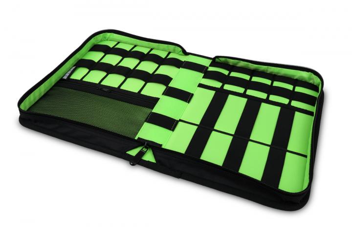 7even accessoire wallet large organizer mappe f r usb sticks kabel etc bag tasche case. Black Bedroom Furniture Sets. Home Design Ideas