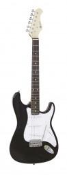DIMAVERY ST-203 E-Gitarre, schwarz / Tolle Einsteiger E-Gitarre
