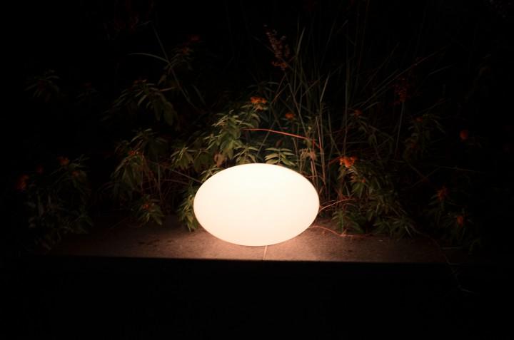 7even led flat egg ei design leucht objekt pool for Teich design store