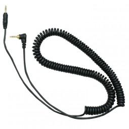 Reloop Ersatz Kopfhörer Kabel für RH-3500 PRO, RHP-10 cord helix black for black and cherry bla