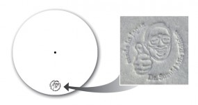 Slipmat Dr. Suzuki Mix Edition white