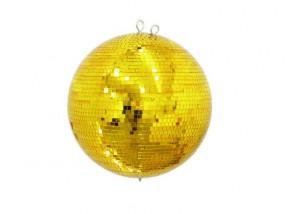 Eurolite Spiegelkugel 40cm gold