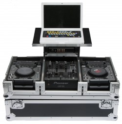Magma CDJ-Workstation 400/350 / Flightcase für 2 x Pioneer CD Player und Mixer