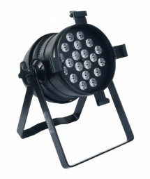Ignition PAR 64 floor PWM black 20 x 3W LED RGB 3in1 LCD