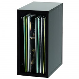 Glorious Record Box schwarz 55 / Platten-Regal