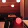 7even® LED Design Dome 50/ LED Leucht Kugel/ In und Outdoor / Wasserdicht / Akku und RF-Fernbedienun