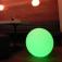 7even® LED Design Dome 40/ LED Leuchtkugel/ In und Outdoor / IP65 / Akku und Fernbedienung