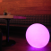 7even® LED Design Dome 40/ LED Leuchtkugel/ In und Outdoor / Wasserdicht ! / Akku und RF-Fernbedienu