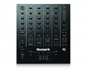 Numark M6 USB Black/ 4 Kanal USB DJ Mixer