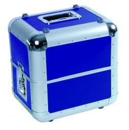Platten-Case ALU 50/50, abgerundet, blau