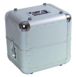 Platten-Case ALU 50/50, abgerundet,silber