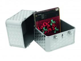 Platten-Case ALU 50/50 poliert 80 LPs