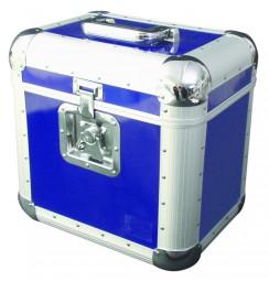 Platten-Case ALU 75/25, abgerundet, blau