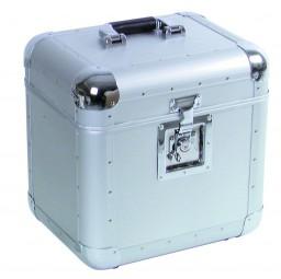 Platten-Case ALU 75/25, abgerundet,silber