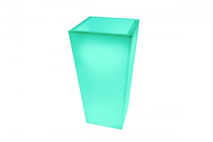7even led design blumentopf led vase flower pot t40 x for Design blumentopf