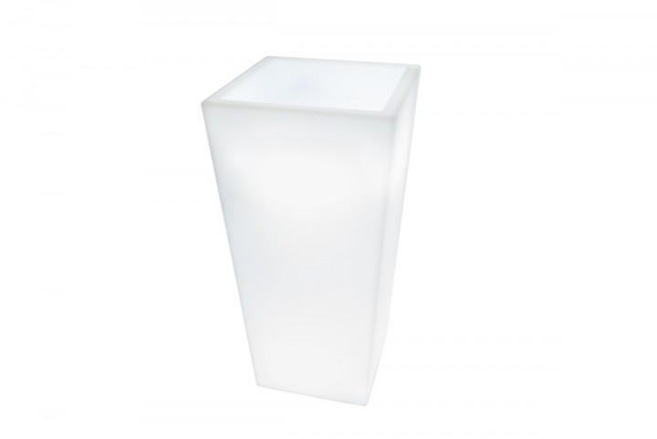 7even led design blumentopf led vase flower pot t40 x. Black Bedroom Furniture Sets. Home Design Ideas